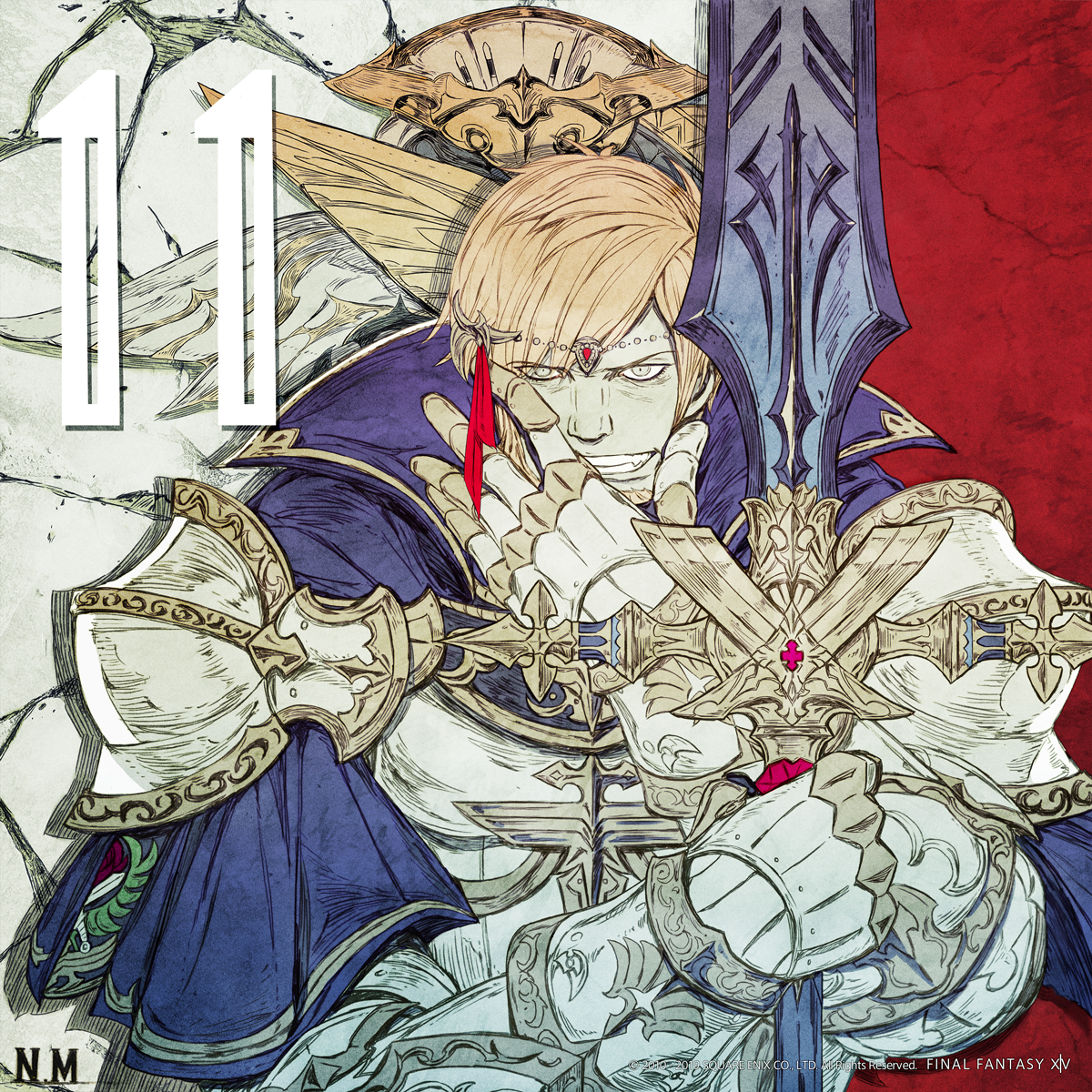Illustrated Shadowbringers Countdown - 11 Days Left | FINAL FANTASY