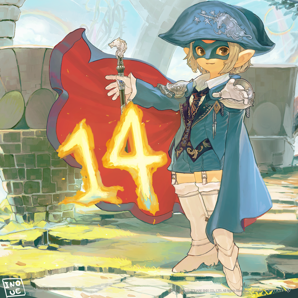 Lodestone: Illustrated Shadowbringers Countdown - 14 Days Left