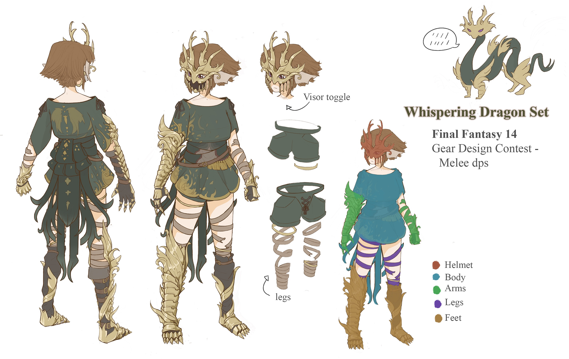 Announcing the Winners of the Gear Design Contest (Melee